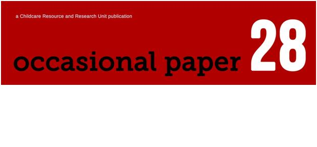 Occasional paper 28