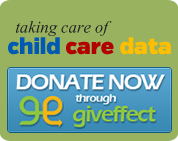 Taking Care of Child Care Data logo
