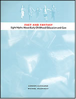 """cover image of """"Fact and fantasy: Eight myths about ECEC"""""""