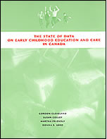 "cover image of ""The state of data on ECEC: National Data Project final report"""
