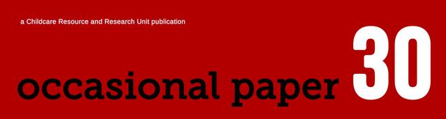 Occasional paper 30 logo
