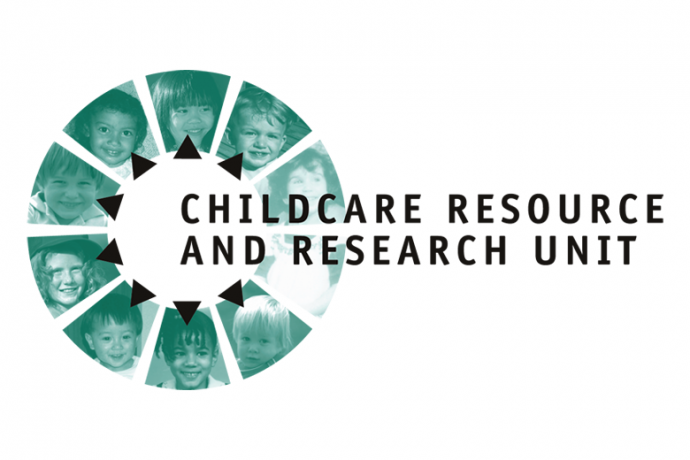 image of the Childcare Resource and Research Unit logo.