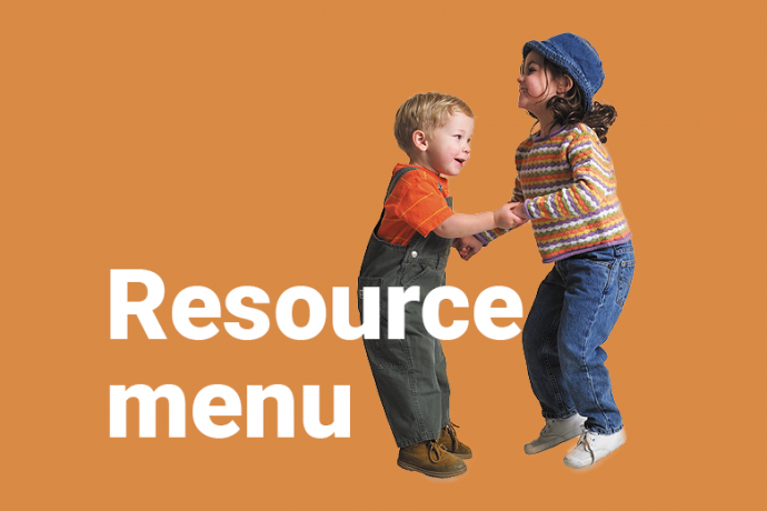 children with title 'Resource menu'